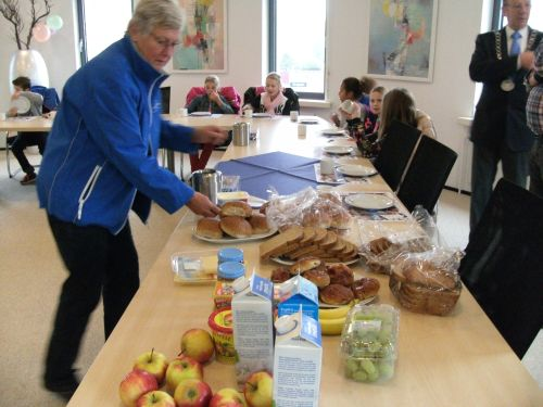 Rsm kinderen ontbijten met burgemeester op stadskantoor montfoort - Buffet jaar ...